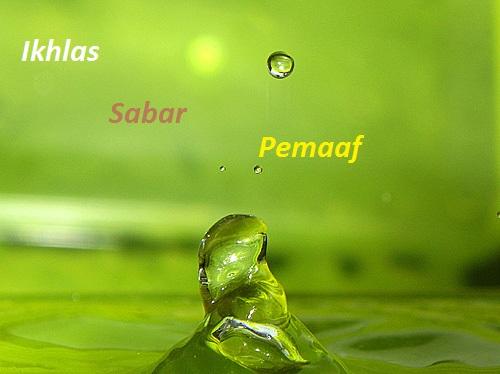 Image result for Contoh Perilaku Ikhlas, Sabar Dan Pemaaf Dalam Kehidupan Sehari-hari