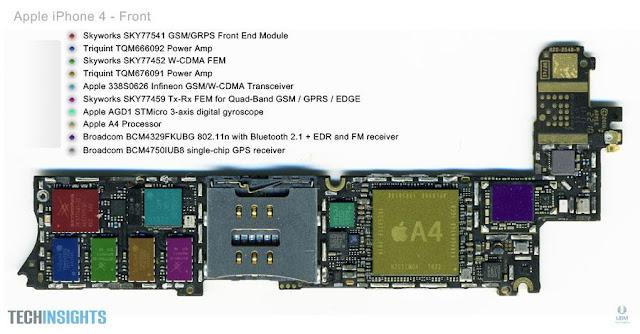 Some Tips: Iphone 4G Schematic Diagram, circuit diagram