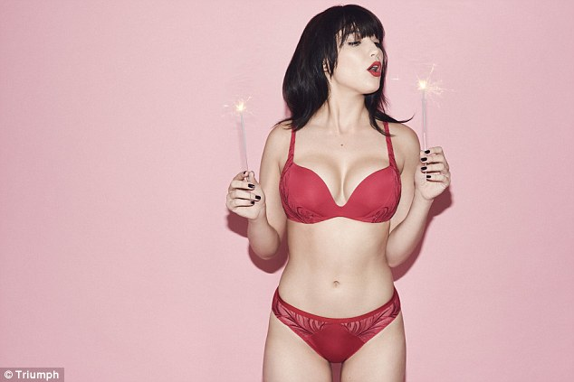 Triumph Lingerie Fall/Winter Latest Campaign stars Daisy Lowe