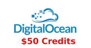 Digital Ocean Kupon Code $50 Gratis dengan email edu