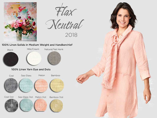 Tender Treasures - Gerry's Blog: New Flax Neutral Styles for 2018!