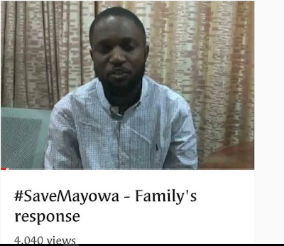 #SaveMayowa Is Totally Real, Mayowa's Brother, Habib Answers Many Questions