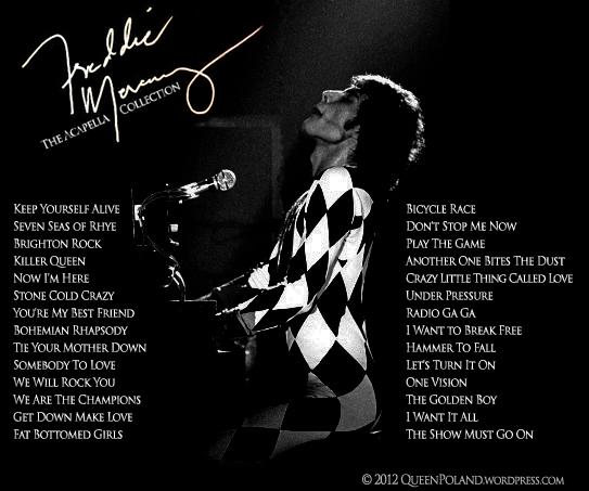 Freddie Mercury - The Acapella Collection