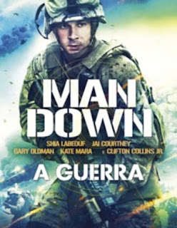 Man Down: A Guerra - BDRip Dual Áudio