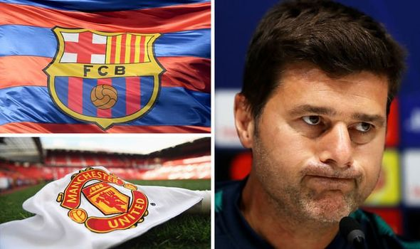 FC Barcelona Vs Manchester United Mauricio Pochetino