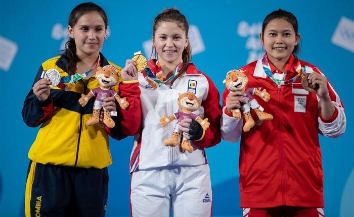 Nur Vinatasari  Olimpiade Remaja (Youth Olympics) 2018
