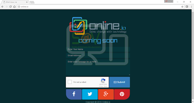 Online.io pop-ups