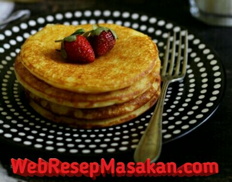 Fluffy Buttermilk Pancake, Resep fluffy buttermilk pancake,