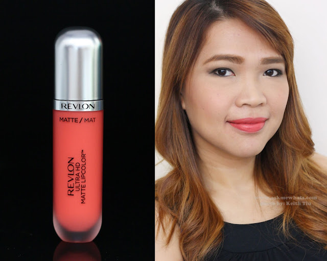 a photo of Revlon Ultra HD Matte LipColor in HD Flirtation, HD Temptation and HD Passion