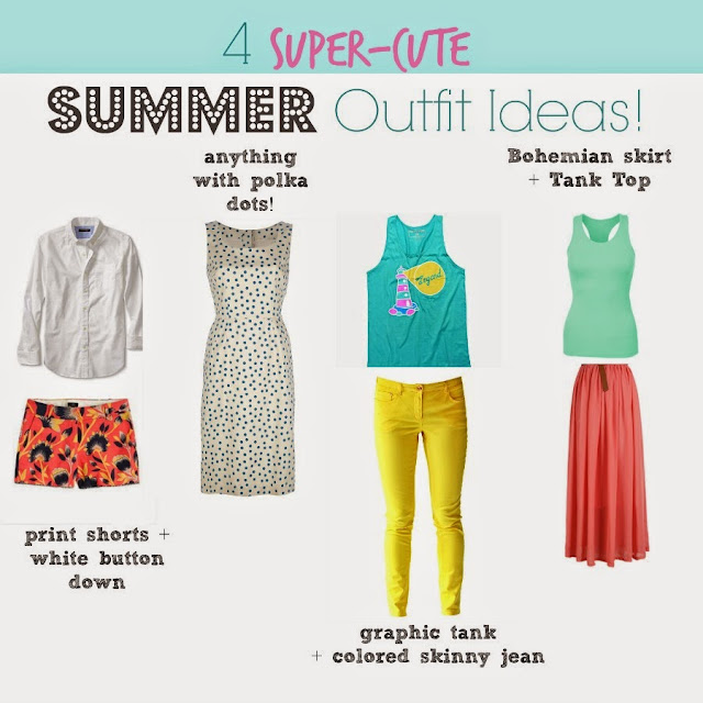 4 Super-Cute Summer Outfit Ideas  via  www.productreviewmom.com