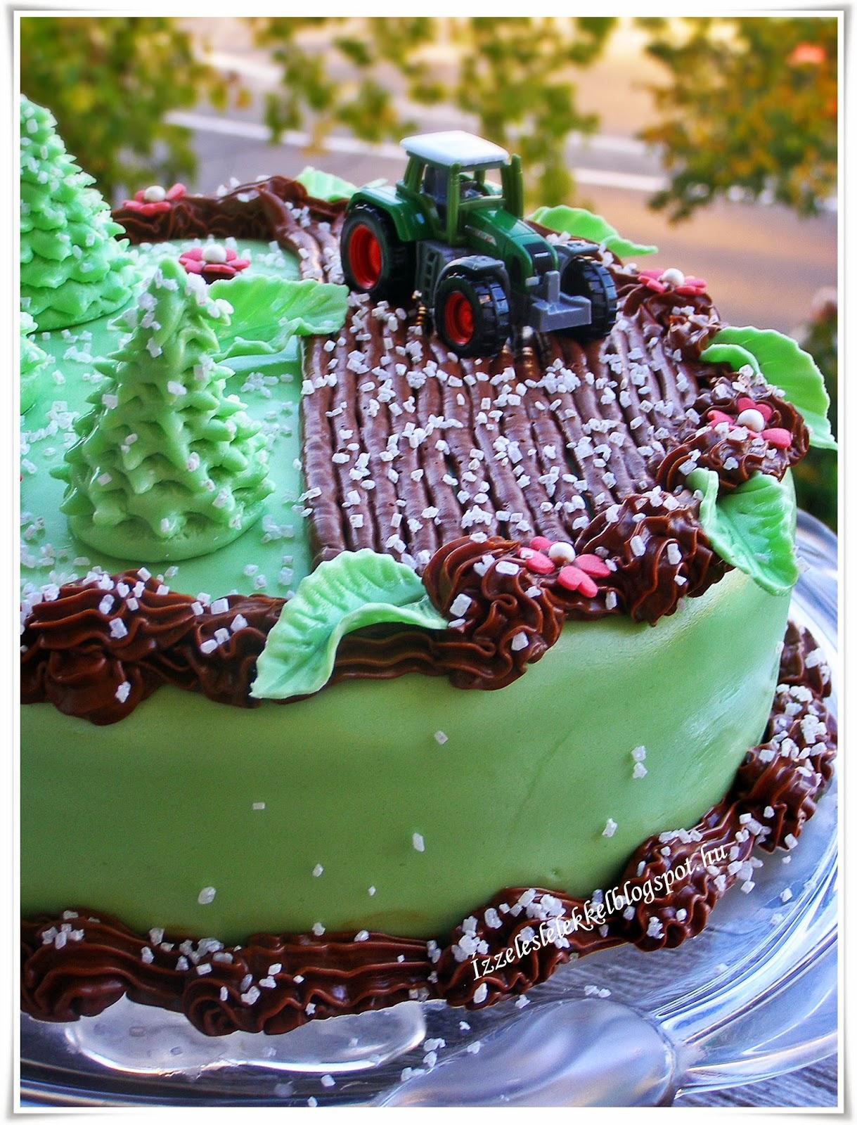 traktoros szülinapi képek ÍZZEL ÉS LÉLEKKEL: TRAKTOROS TORTA traktoros szülinapi képek