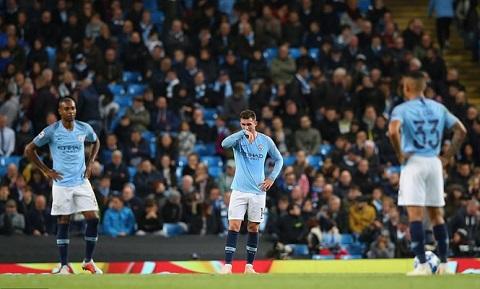 Man City thua sốc trước đội được đánh giá yếu hơn