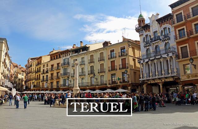 Teruel y su interesante arquitectura mudéjar aragonesa