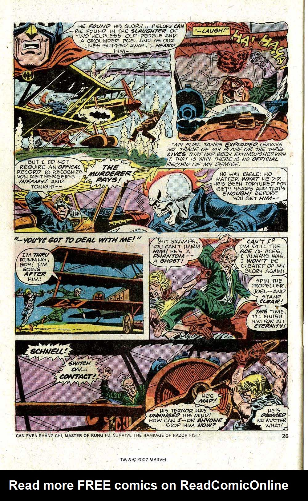 Ghost Rider (1973) Issue #12 #12 - English 28