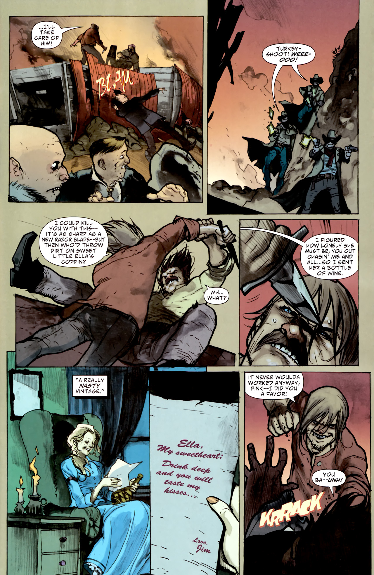 Read online American Vampire comic -  Issue #1 - 29