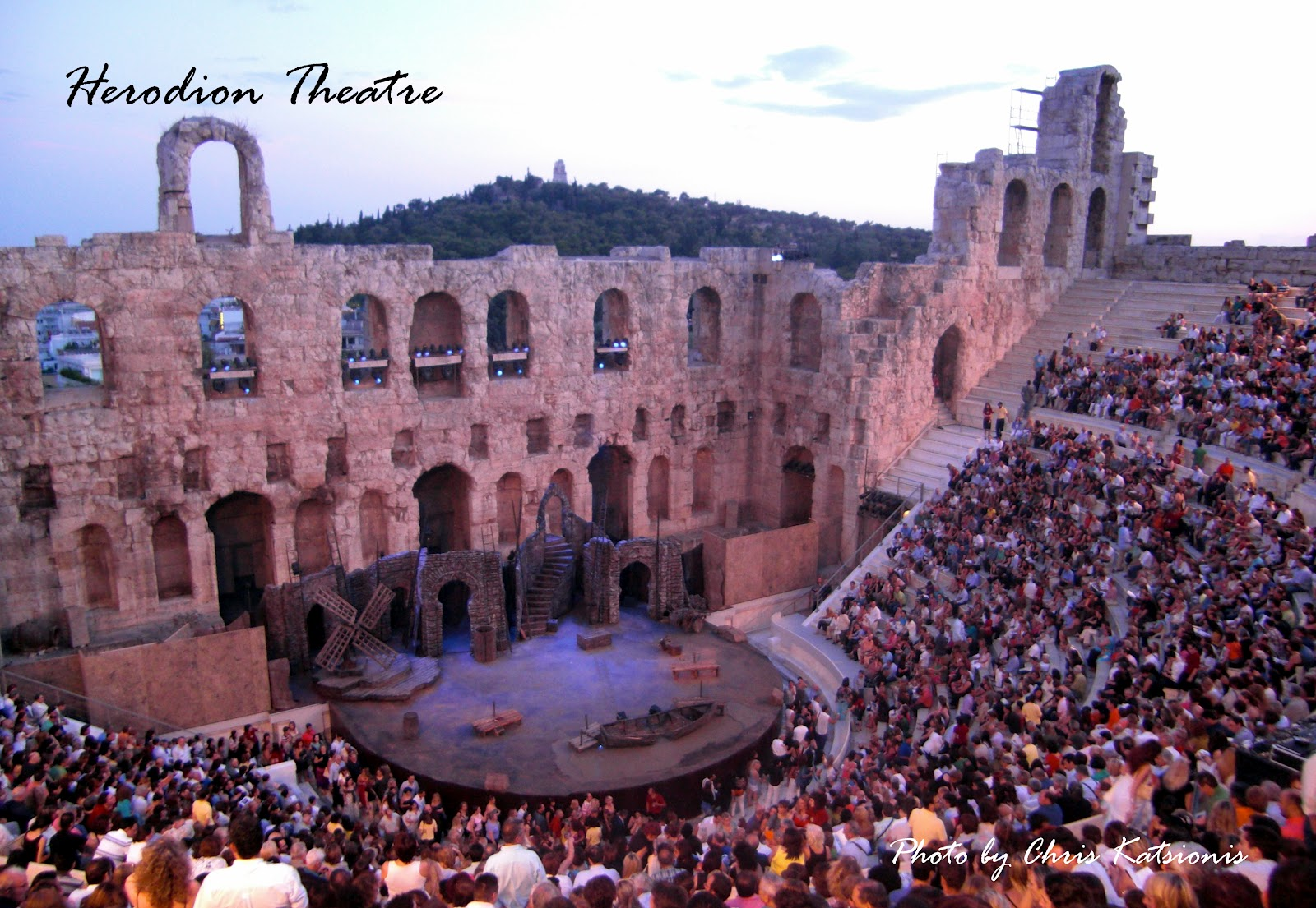 My City Our Athens Acropolis Amp Herodion Theatre