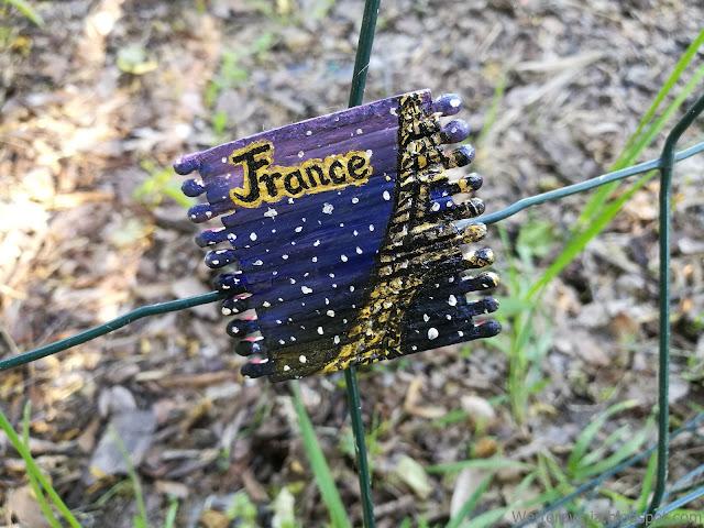 Magnes z Wieżą Eiffla DIY