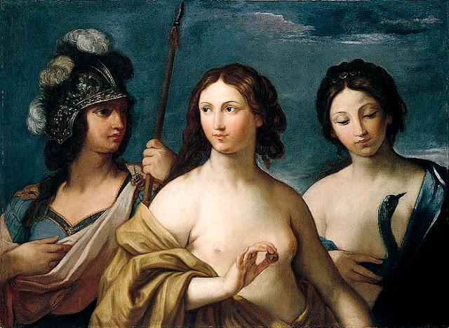 Giovanni Andrea Sirani: Minerva, Venere e Giunone