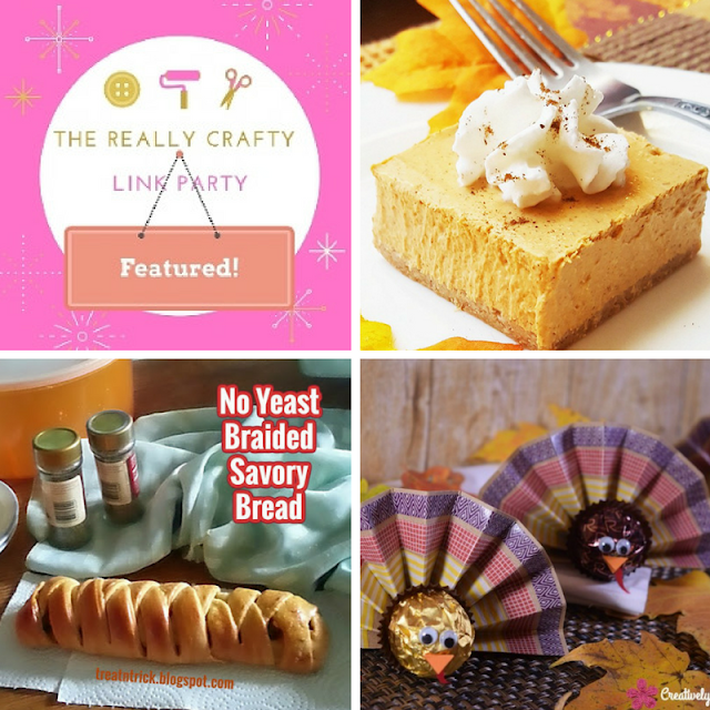 The Really Crafty Link Party #42 featured posts