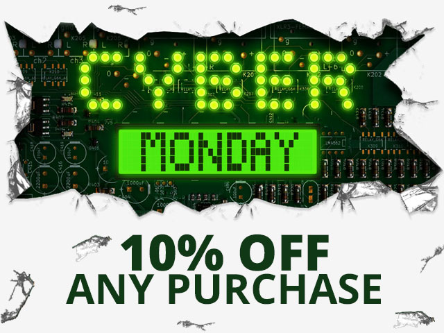 Cyber Monday - 10% off any purchase