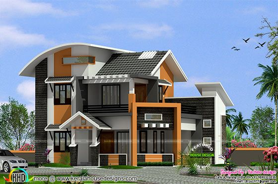 Middle class family home plan