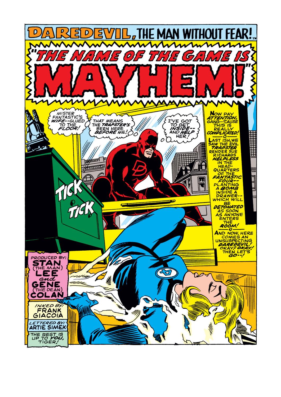 Daredevil (1964) 36 Page 1