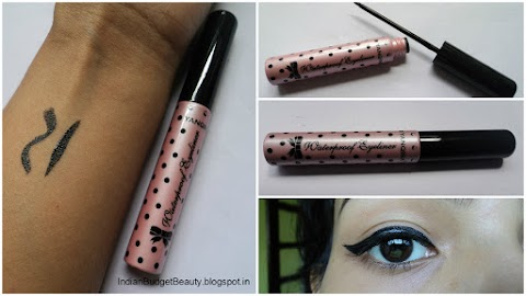 BornPrettyStore.com Charming Polka Dot Liquid Eyeliner Pen Pure Black REVIEW