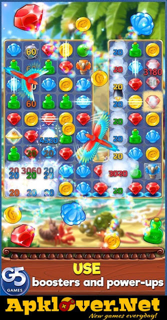 Pirates & Pearls: A Treasure Matching Puzzle MOD APK unlimited money