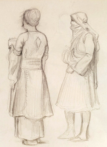 Study of an Arab and an Arnaut Chief