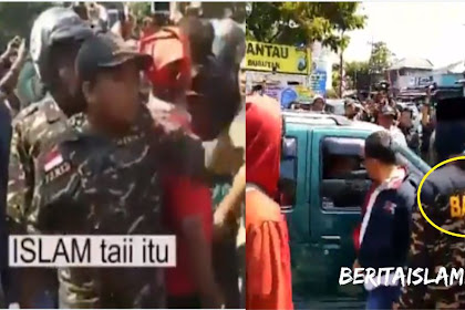 "Sambil Tantang FPI, Oknum Banser Sebut ""lSLAM TAl"" Padahal FPI Memilih Sibuk Bantu Korban Gempa Lombok"