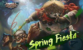 Ulasan Event Spring Fiesta Mobile Legends  BBM MOD APK Ulasan Event Spring Fiesta Mobile Legends 30 Maret - 30 April 2018