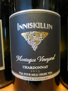 Inniskillin Montague Vineyard Chardonnay 2013 - VQA Four Mile Creek, Niagara Peninsula, Ontario, Canada (88 pts)