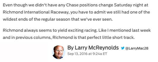 http://www.foxsports.com/nascar/story/richmond-provides-endless-chase-storylines-091316