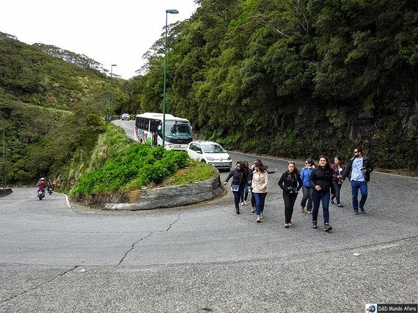 Um dia na Serra do Rio do Rastro em Santa Catarina - Mirante