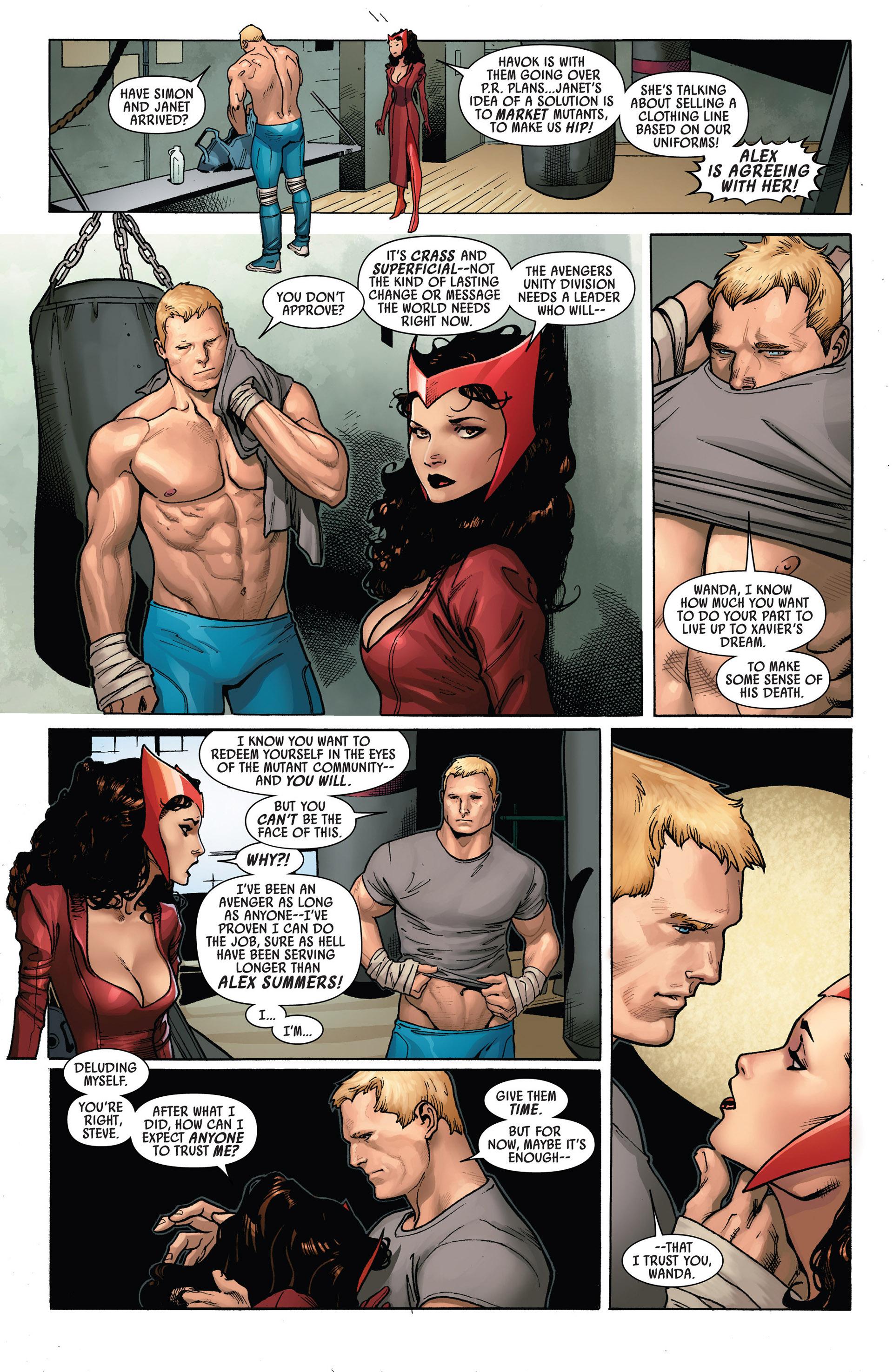 Read online Uncanny Avengers (2012) comic -  Issue #5 - 10