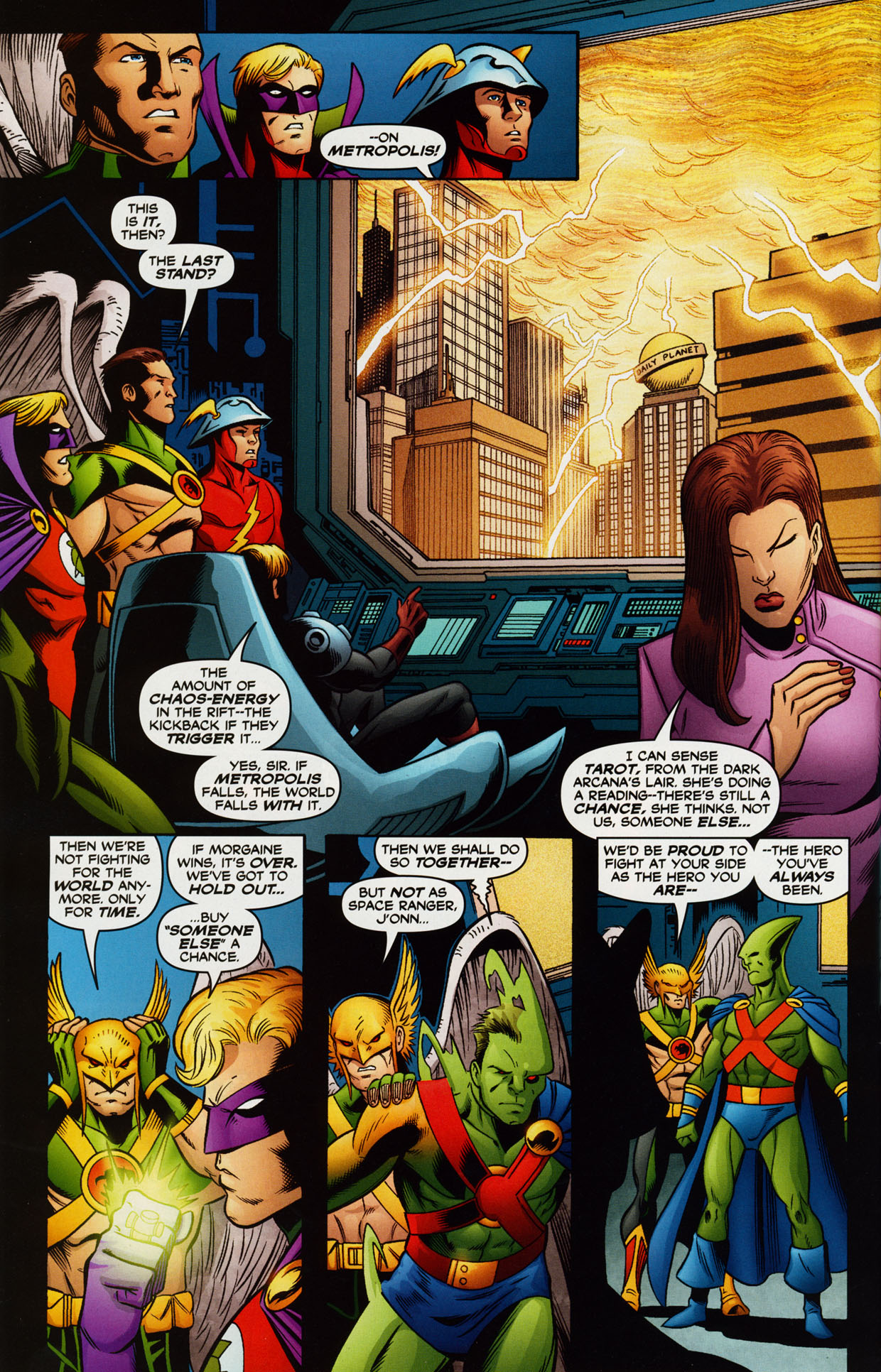 Read online Trinity (2008) comic -  Issue #38 - 29