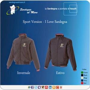 """Giubbino con logo """"Sardegna al Mare"""" Classico, Invernale o Estivo"""