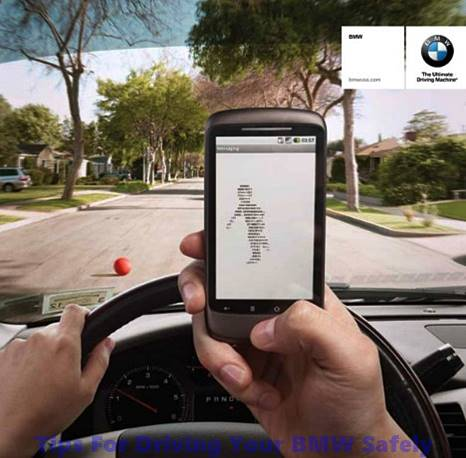 Tips For Driving Your BMW Safely