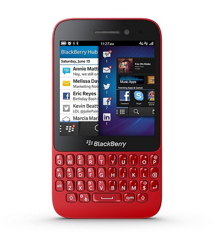 Leaking documents about the date and access BlackBerry Q5 Canadian market