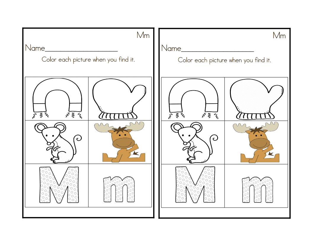 Sprinkles To Kindergarten Letter Mm Activities