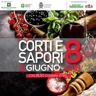 Corti E Sapori, tour enogastronomico in 4 corti storiche 2 giugno Cogliate (MB)