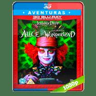 Alicia en el país de las maravillas (2010) 3D Half OU 1080p Audio Dual Latino-Ingles