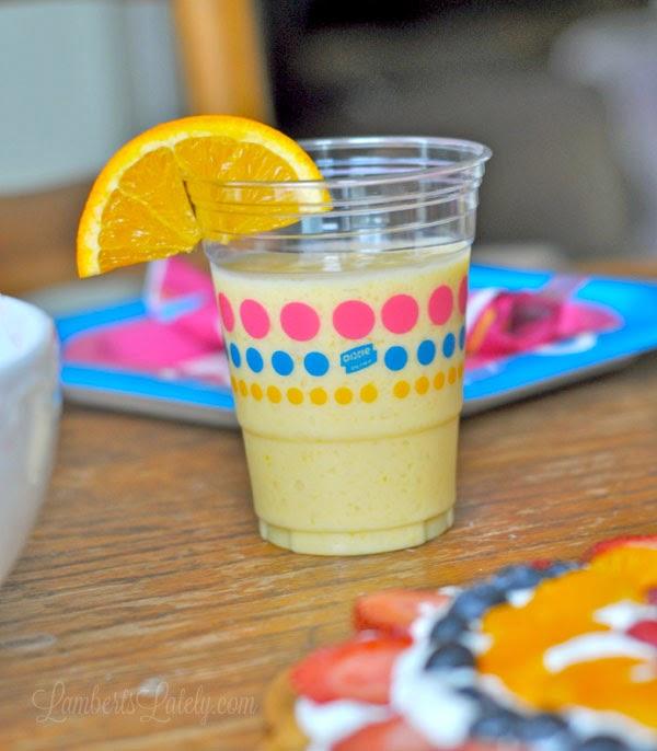 Orange Creamsicle Smoothies