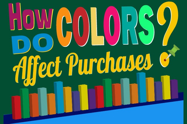 Image: How do Colors Affect Purchases? #infographic