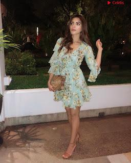 Shama Sikandar Beautiful Stunning Deep neck Gowns Bikini Inners 025.jpg