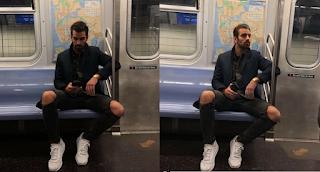 Κοπέλα έβγαλε κρυφά φωτογραφίες ένα μοντέλο στο μετρό και την πάτησε