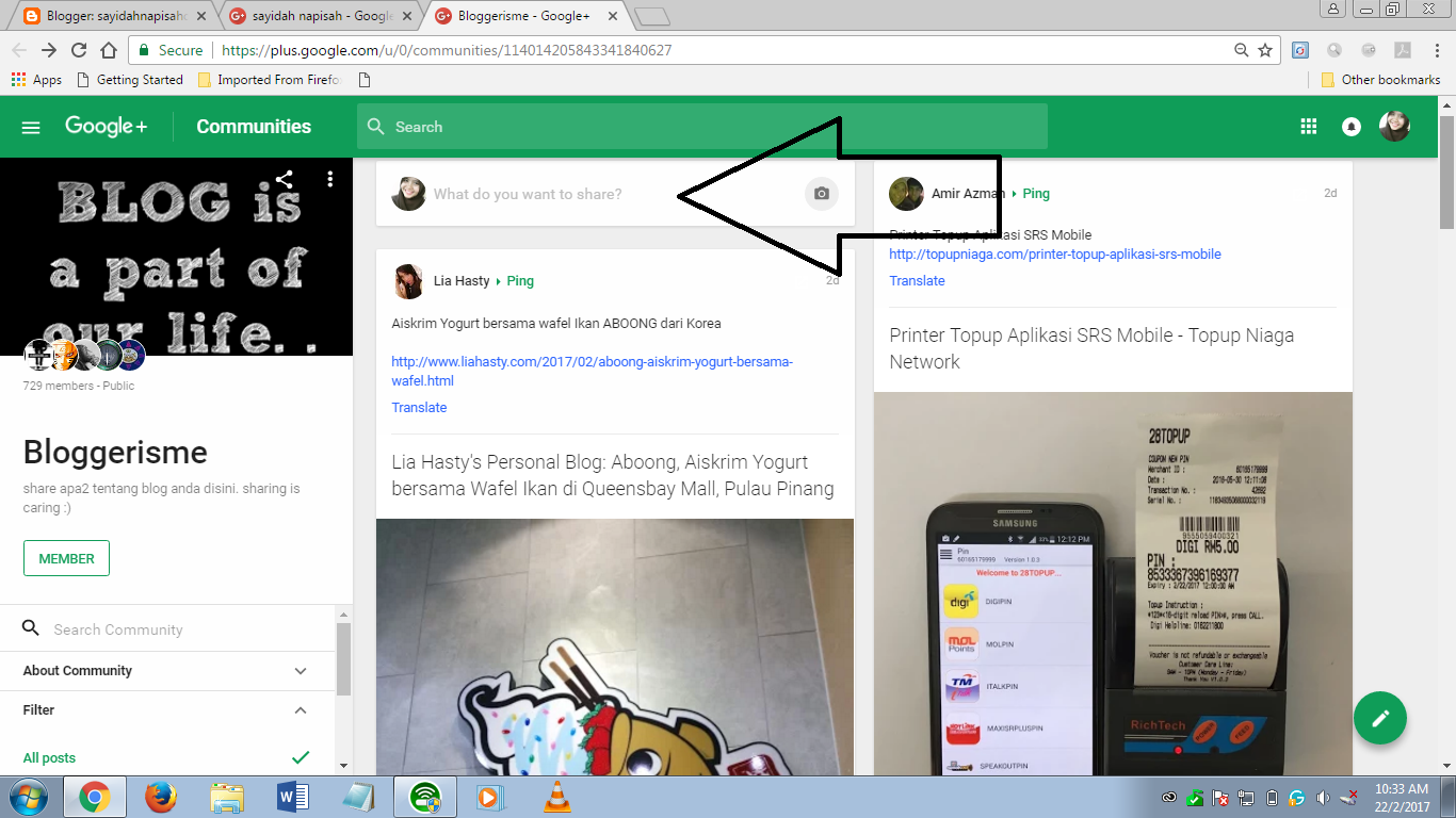 24 Group Community Google+ & Cara Ping Entri Di Community Google+