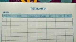 buku catatan keuangan perusahaan