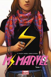 Miss Marvel Métamorphose - Tome 1 (couverture originale)