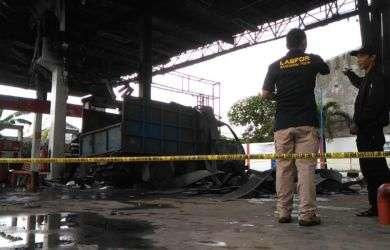 Diduga Penyebab Kebakaran SPBU Abdesir, Polisi Cari Sopir Mobil Truk